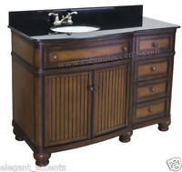 48 bathroom vanity with offset sink 48 034 bathroom vanity with offset sink bowl brown finis 24767