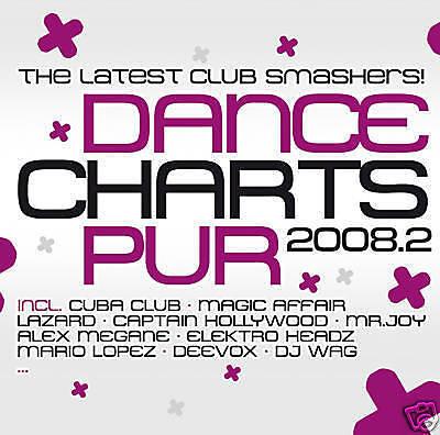 Dance Charts Pur 2008.2 - Various (2CDs) Neu