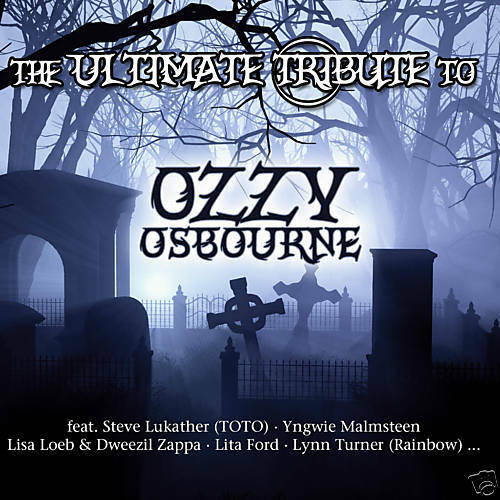 CD Ozzy Osbourne The Ultimate Tribute To by Various Artists