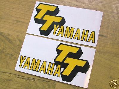 1978 Yamaha TT500 gas tank decals