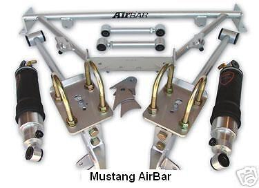 Air Ride Technologies Muscle Car Air Bar Shockwave Kit Ridetech