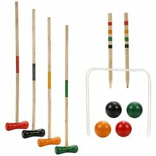 4 Player Complete Croquet Game Set