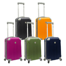 """Beverly Hill Country Club Newport 21"""" Carry-on Hardside Spinner Luggage Suitcase"""