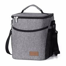 Lifewit Lunch Bag Waterproof Thermal Cooler Insulated Portable Tote Storage Box