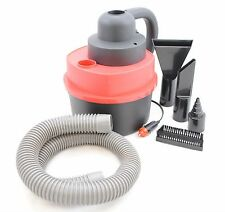 12V Wet Dry Vacuum Cleaner Portable Hand Held Car or Shop Vac with Inflator