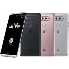 "LG V20 H990DS 64GB Dual Sim (FACTORY UNLOCKED) 5.7"" 4GB RAM - Titan Pink silver"
