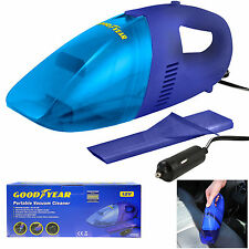 Goodyear 12V DC Car Cigarette Lighter Corded Vacuum Cleaner Powerful Suction