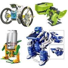 Educational Assembly Solar Power Robot Construction Kit